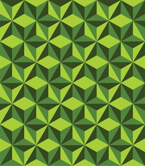 Abstract triangle geometrical seamless pattern