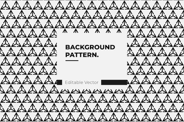 Abstract triangle pattern seamless for background design