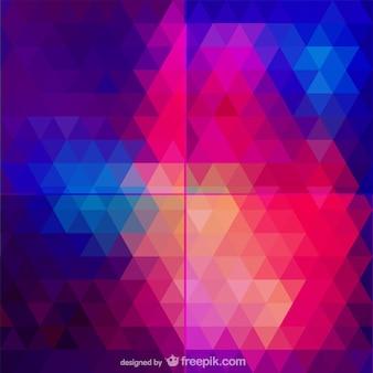 Абстрактный узор треугольник