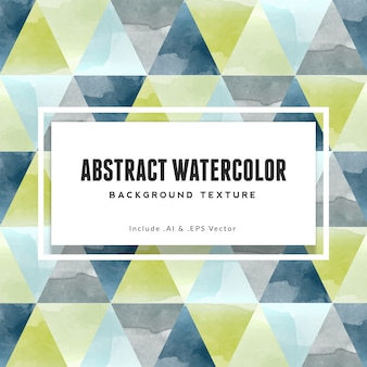 Abstract triangle watercolor background texture with green and navy blue