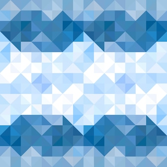 Abstract triangles pattern background. water and sky geometric background. vector illustration.