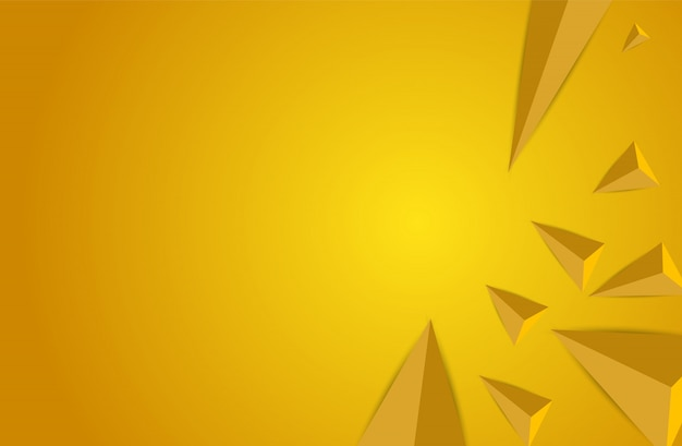 Abstract triangles space low poly. polygonal  background.