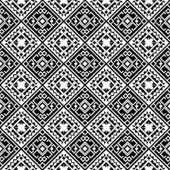 Abstract tribal aztec seamless pattern.