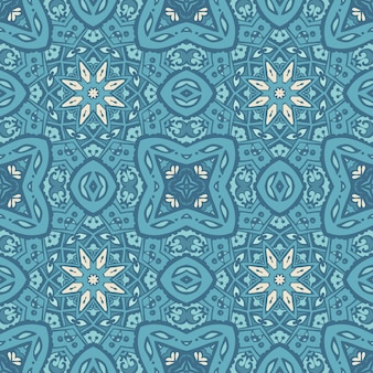 Abstract tribal vintage ethnic seamless pattern ornamental.