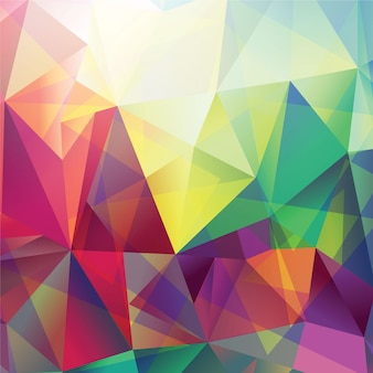 Abstract triungle background