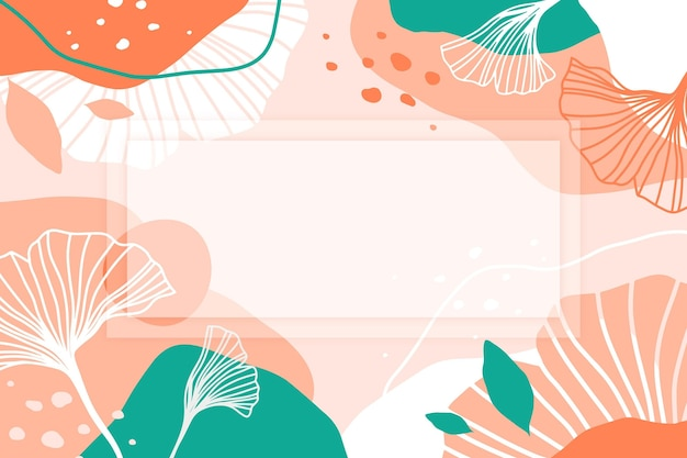 Abstract tropical background concept