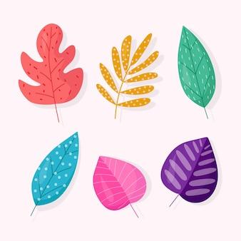 抽象的な熱帯の葉