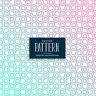 Abstract truchet colorful seamless pattern design