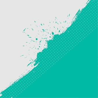 抽象的なターコイズと白のグランジテクスチャ背景