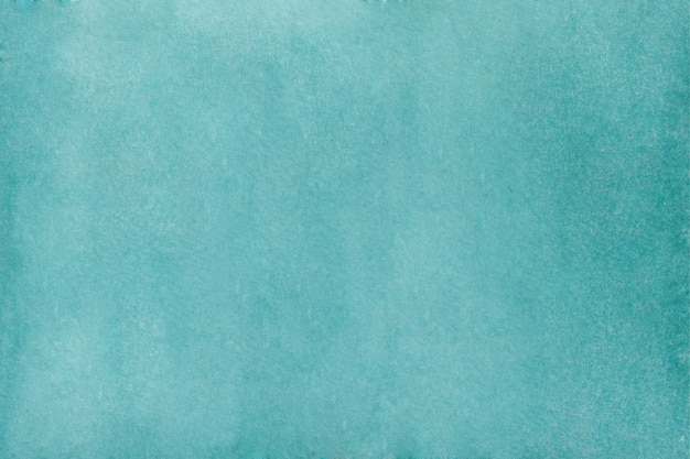 Abstract turquoise watercolor background. hand drawn watercolor texture