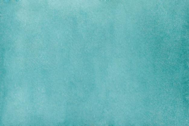 Абстрактный бирюзовый акварельный фон. ручной обращается акварель текстуры