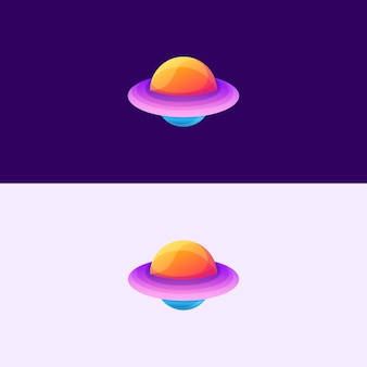 Abstract ufo icon