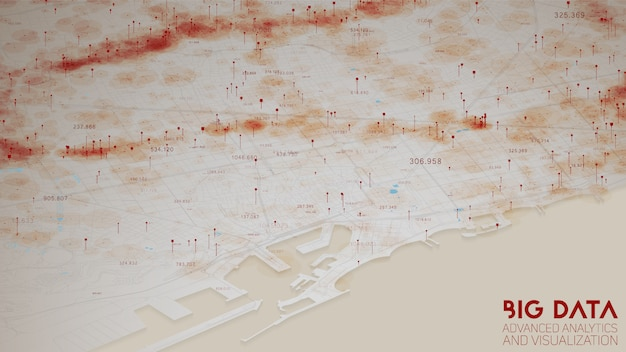 Анализ городской финансовой структуры больших данных