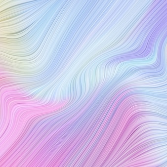 Abstract various multicoloured gradient with liquid lines background