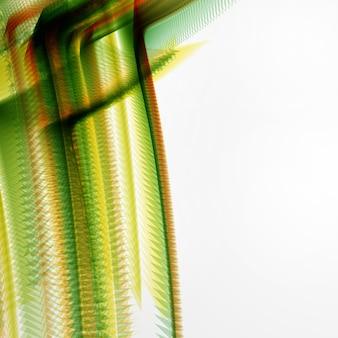 抽象的なベクトルの背景、未来的なカラフルな波状イラストeps10