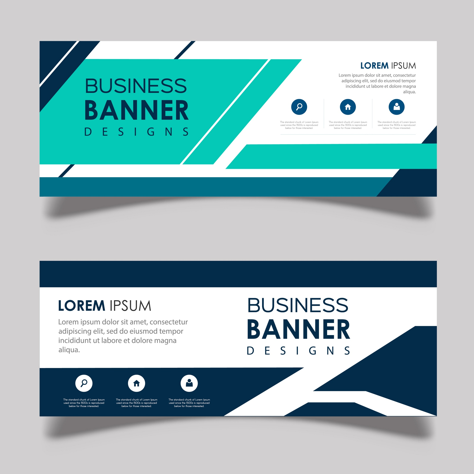 Abstract Vector Banner Designs