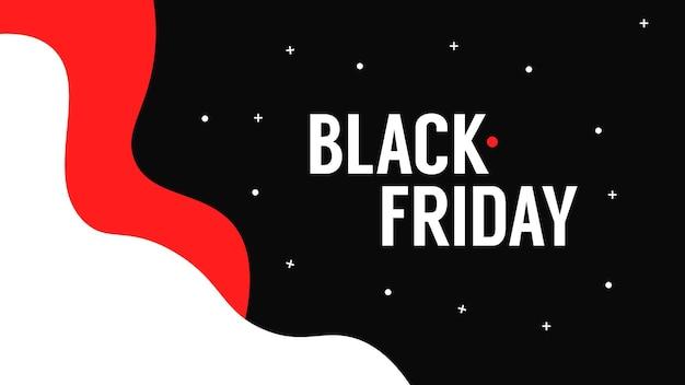 Абстрактные векторные черная пятница продажа макет фон для маркетинга черная пятница