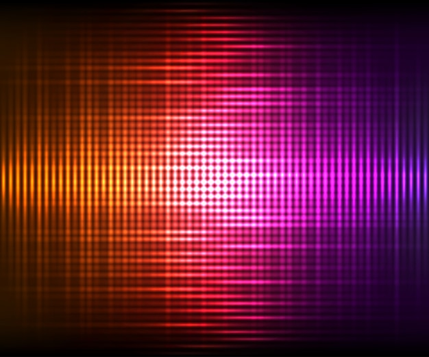 Abstract vector colorful shining background. vector illustration with light effects on dark background