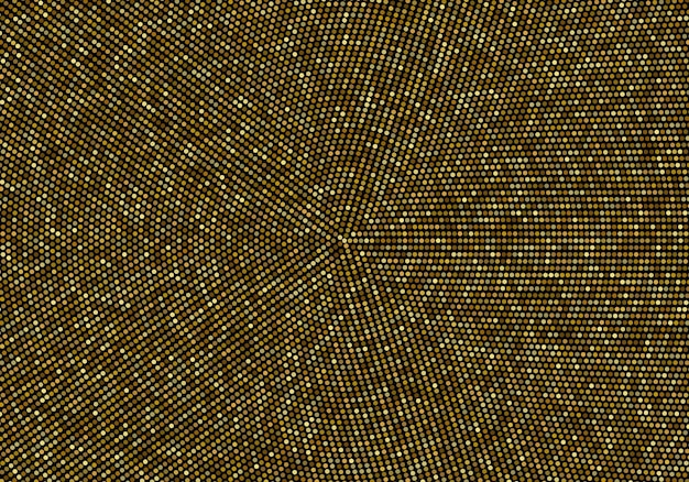 Abstract vector gold background glitters gold in a circle design template vector background