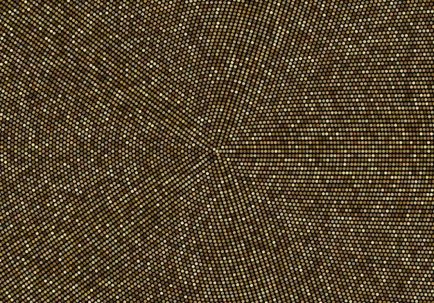 Абстрактные векторные золотой фон блестит золото в круге шаблон оформления векторный фон