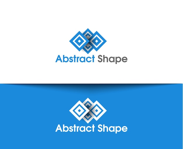 Abstract vector logo and symbol design