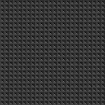 抽象的なベクトルのシームレスなパターン。黒のテクスチャベクトル図
