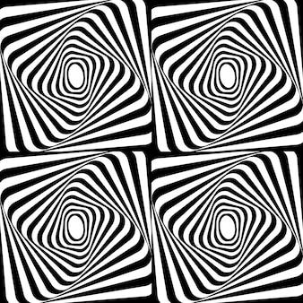 抽象的なベクトルのシームレスなパターン。