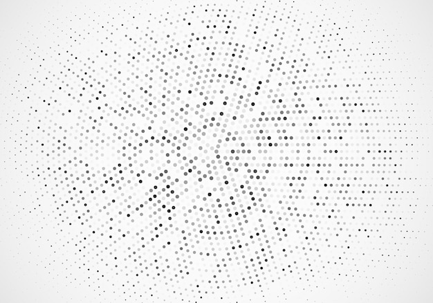 Abstract vector silver background design template,halftone background