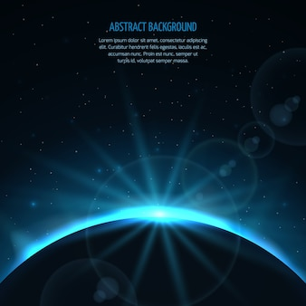 Abstract vector space fantastic background
