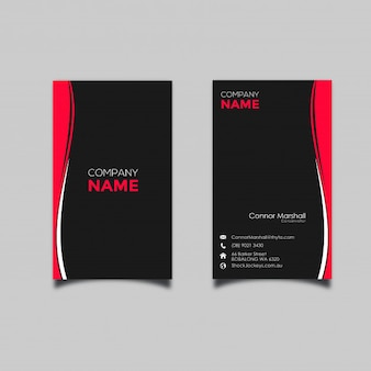 Vertical business card vectors photos and psd files free download abstract vertical business card template with flat design reheart Gallery