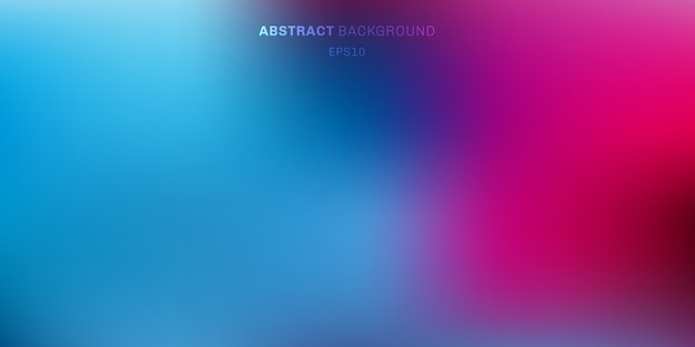 Abstract vibrant color blurred background