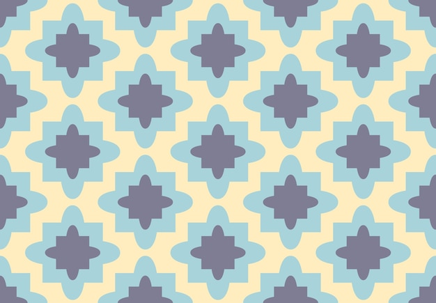 Abstract vintage tile pattern.vector background