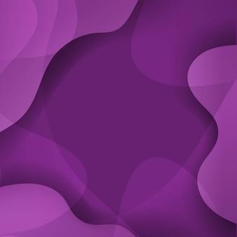 Абстрактный фиолетовый фон с линией