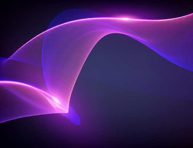 Abstract violet flame mesh background. futuristic technology style.