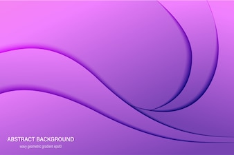Abstract violet trend