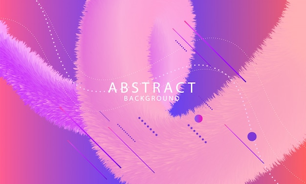 Abstract virtual space background
