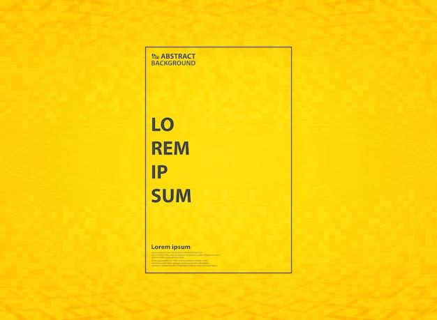 추상 생생한 노란색 배경