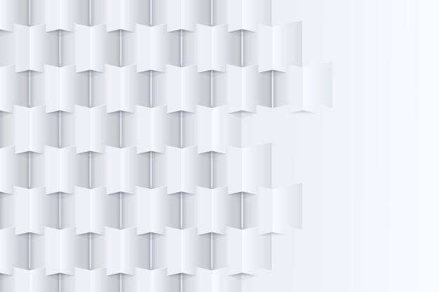Carta da parati astratta nello stile della carta 3d