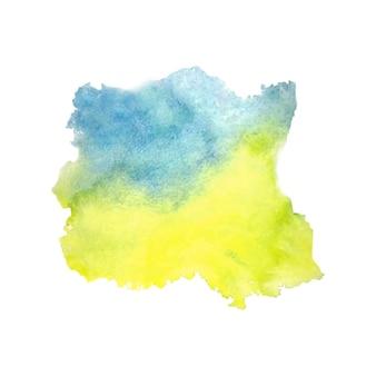抽象的な水彩スプラッタ