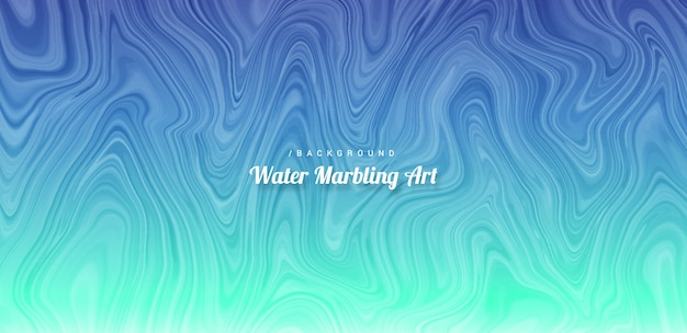 Abstract water marbling art background