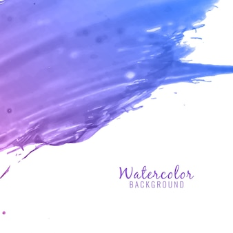 Abstract watercolor background with blur effect