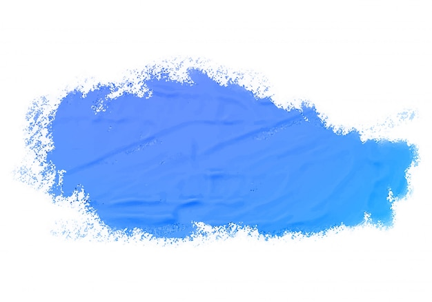 Abstract watercolor blue paint texture
