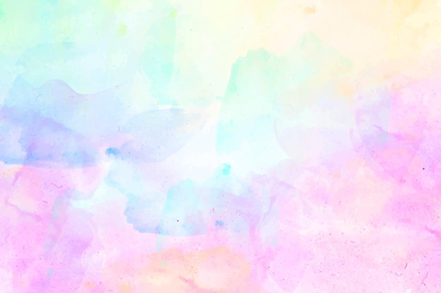 抽象的な水彩画のカラフルな背景