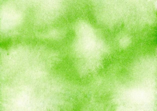 抽象的な水彩画の緑の背景デザイン