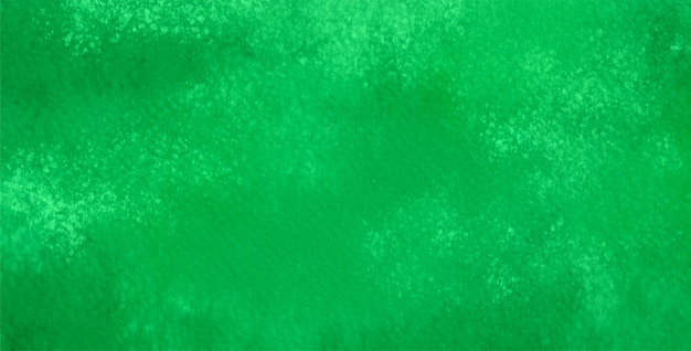 Abstract of watercolor in green color