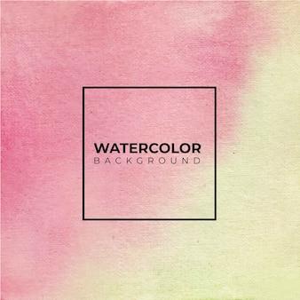 抽象的な水彩ハンドペイント。