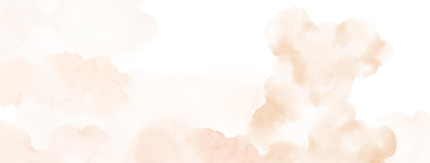 Abstract watercolor hand-painted for background. orange yellow watercolor stains vector texture is ideal for element in the decorative design of header, brochure, poster, card, cover or summer banner.