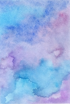 Абстрактная акварель ручной росписью фон