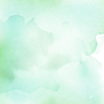 Abstract watercolor light green texture background
