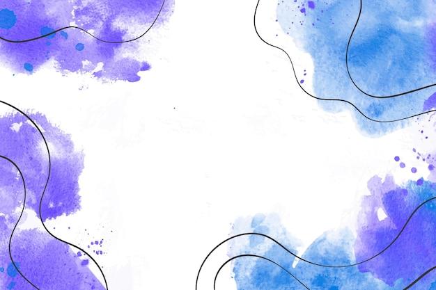 Sfondo dipinto ad acquerello astratto